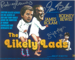 Rodney Bewes, James Bolam, Brigit Forsyth (Likely Lads)  10186